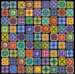 81 square Stitching Sudoku